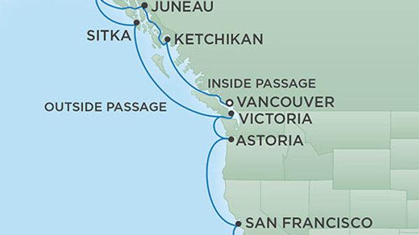Seven Seas Mariner * Sep-18-2019 * Vancouver to Los Angeles * 12 nights