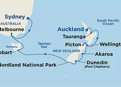 Ruby Princess * Dec-30-2019 * Auckland to Sydney * 14 Nights