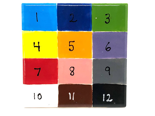 Indicate up to 6 paint colors in the note at checkout