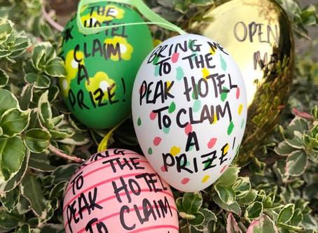 We're having an Easter egg hunt! 🐣