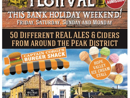 2019 Hope Valley Beer and Cider Festival Dates