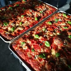 Pizza du jour (légumes et jambon) - 8 $ ou 14 $