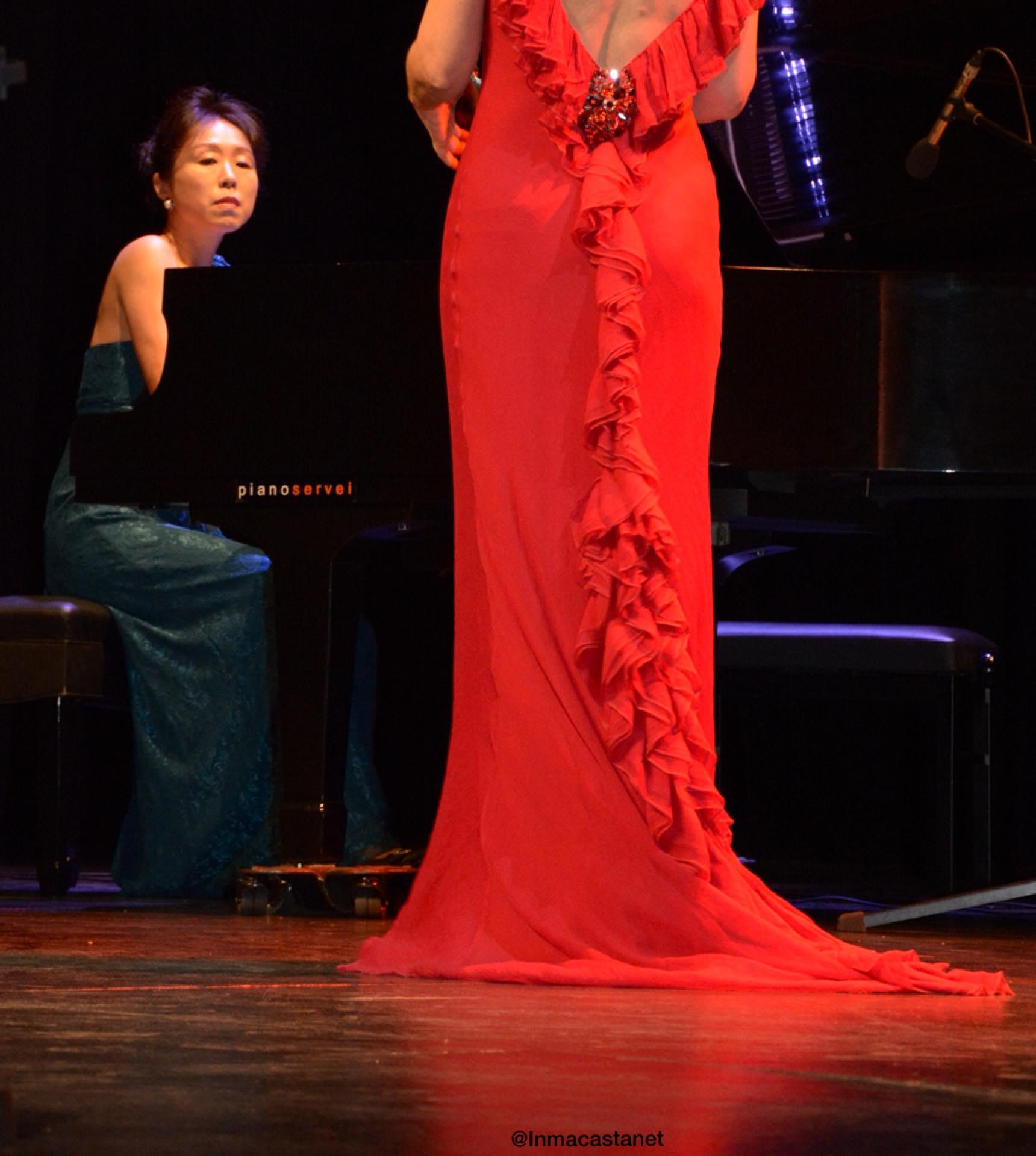Con Yoko Suzuki, Teatre Segarra