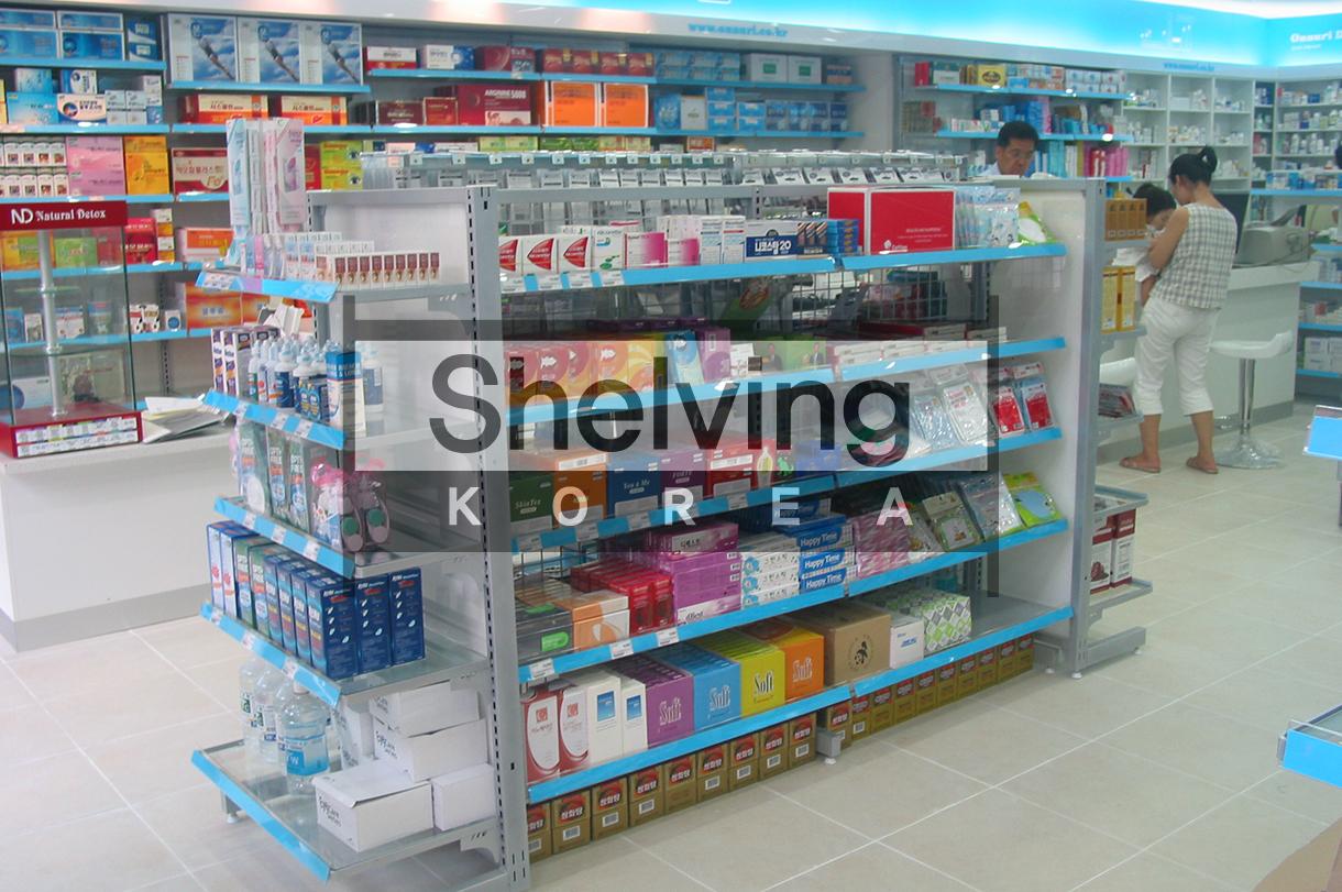온누리약국-진열대 세팅