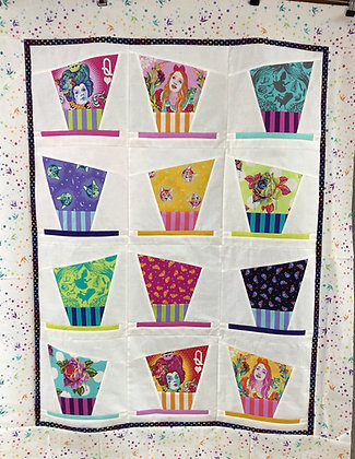 Hatazzeled Quilt Kit - Tula Pink Curiouser