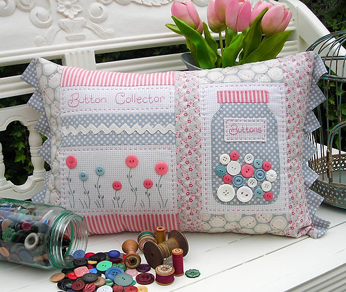 Button Collector Pattern by The Rivendale Collection