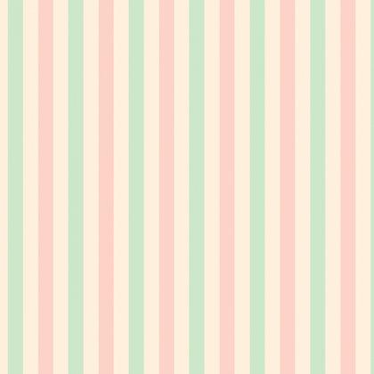 Pink/Teal Strip by Elise Martinson DV3166