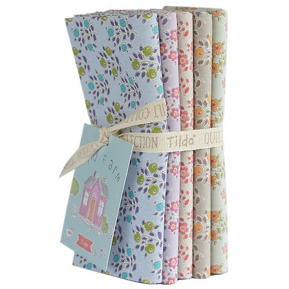 Tilda Tiny Farm Half Metre Bundle - Flower and Berries