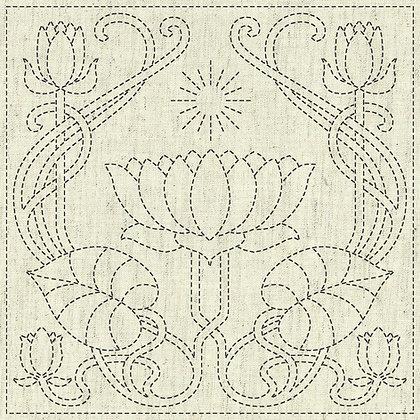 Sashiko Cloth - Serenity -KF2020-14
