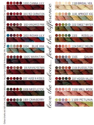 Cottage Garden Threads 1000-1109