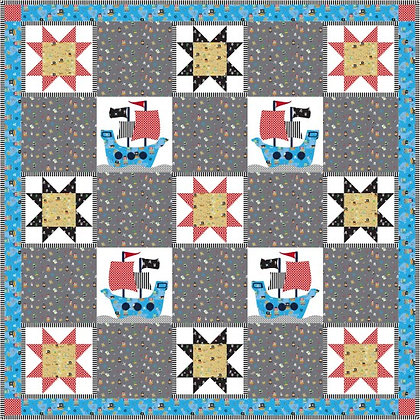 On the High Seas Quilt Kit