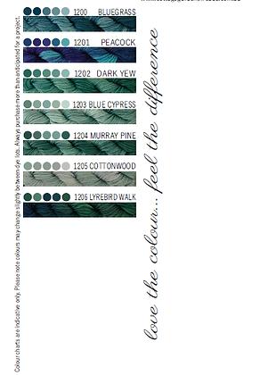 Cottage Garden Threads 1200-1206