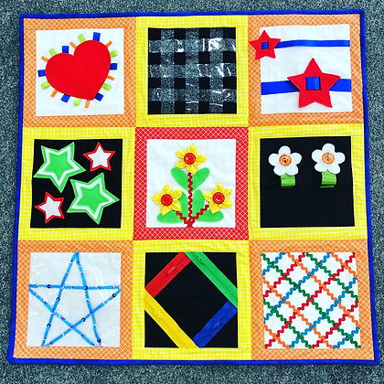Kaela's Patch Take and Play Wall Hanging