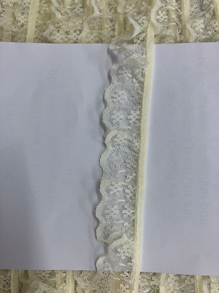 Gathered Nylon Lace #133