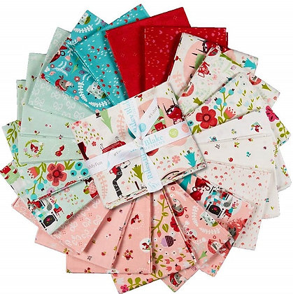 Riley Blake Little Red Woods Fat Quarter Bundle