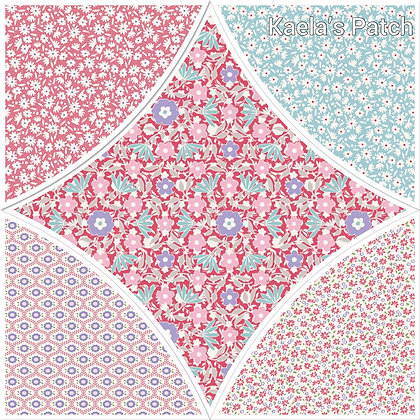 Tilda Bon Voyage Colourway D Fat Quarter Bundle