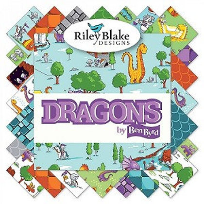 "Dragons by Riley Black 5"" Stacker"