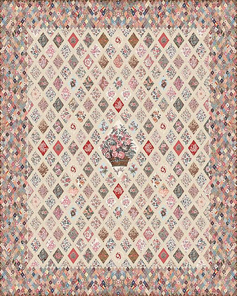 Jane Austen At Home Coverlet Booklet and Template set P120 & STT16019