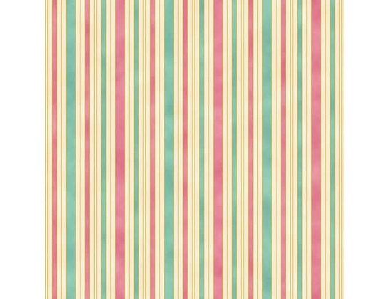 Hampton Strip Pink/Teal 0011-6