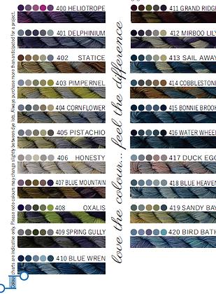 Cottage Garden Threads 400-420