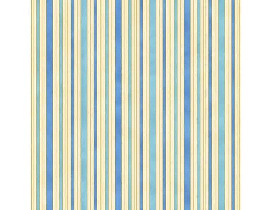 Hampton Strip Blue/Ivory 0011-12