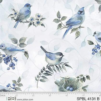Spring Blue by PB Textiles PB4131B