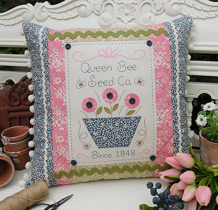 Queen Bee Pattern by The Rivendale Collection