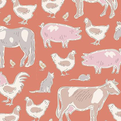 Tilda Tiny Farm - Farm Animals Ginger 10014