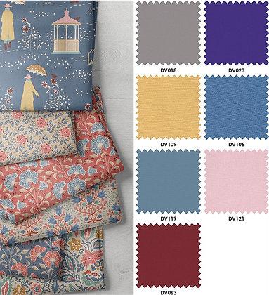 Devonstone Collection - Windy Days Half Metre Bundle - Colourway Blue