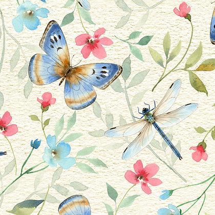 QT Fabrics - Wildflower Farm - 28148E