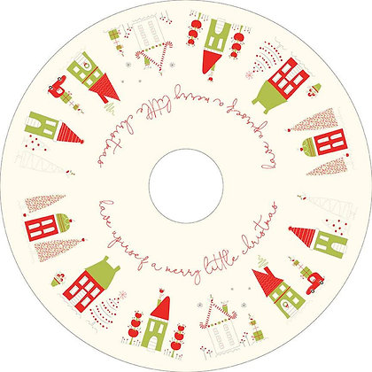 Merry Little Christmas by Riley Blake C9647 Tree Skirt Panel