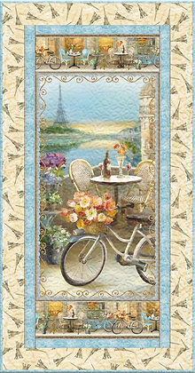 Le Cafe Wall Quilt Kit