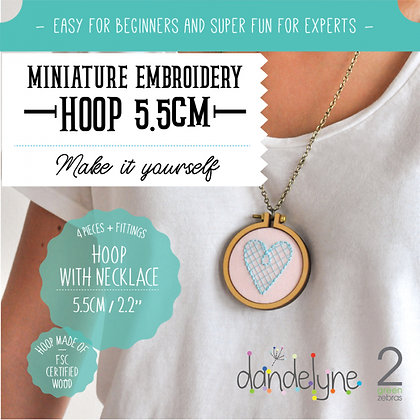 Dandelyne 5.5cm Hoop with Necklace DL0009
