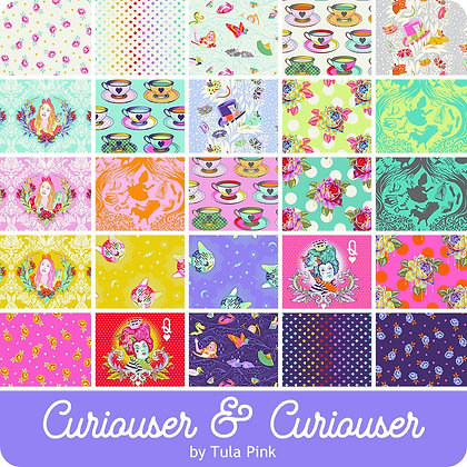 Curiouser & Curiouser by Tula Pink - Fat Quarter Bundle