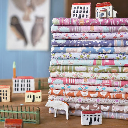 Tilda Tiny Farm Full Fat Quarter Bundle