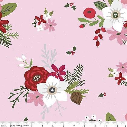 Riley Blake Designs - Holly Holiday - C10880.Rosette