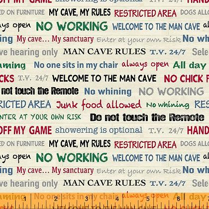 Windham Fabrics - Man Cave - 52414-4