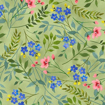 QT Fabrics - Wildflower Farm - 28149H