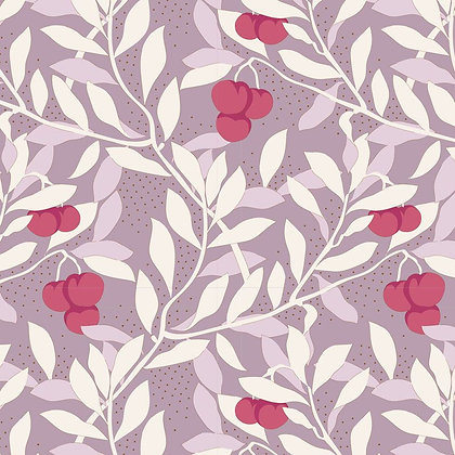 Tilda Maple Farm - Cherrybush Mauve 100262