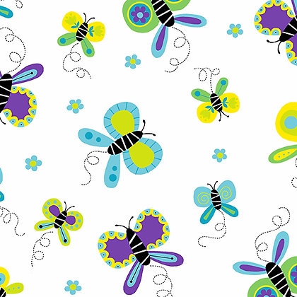 Buzzin Around - Butterflies Cool - A9381T