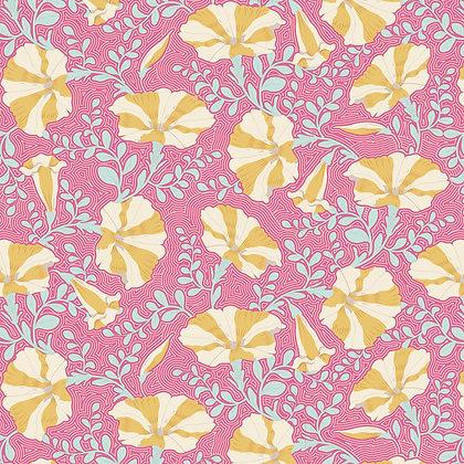 Tilda Gardenlife Collection -100305 Striped Petuna Pink