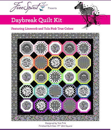 Tula Pink Daybreak Quilt Kit