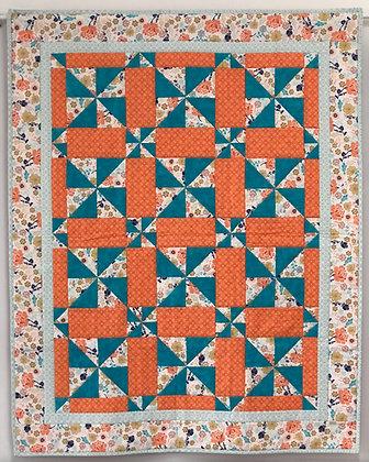 Kaela's Patch Pinwheel Posey Quilt Pattern