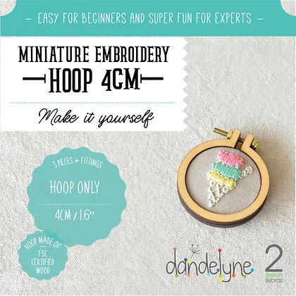 Dandelyne 4cm Hoop DL0004