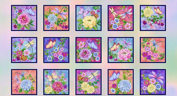 Henry Glass - Gossamer Garden Collection - 2648P-10