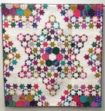 Sewalicious Baker - Trip to The Stars Mini Quilt PDF Pattern