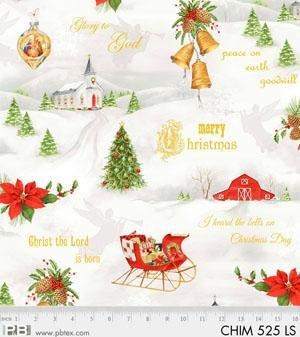Christmas Chimes by PB Textiles 525LS