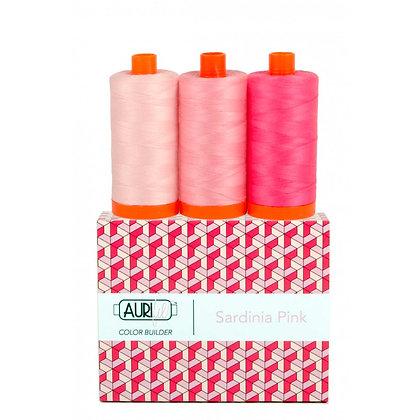 Aurifil Thread - Colour Builder - Sardinia Pink