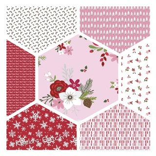 Riley Blake Designs - Holly Holiday - Fat Quarter Bundle