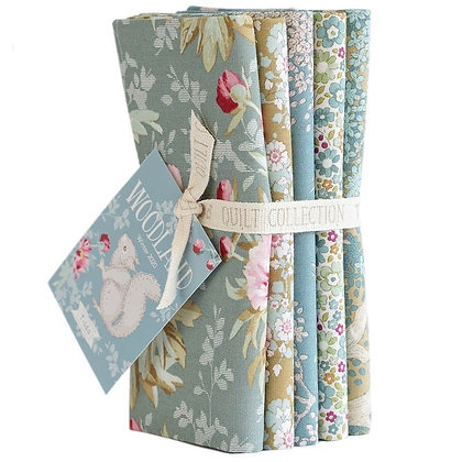 Tilda Woodland Green-Sage Half Metre Bundle